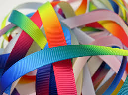 grosgrain ribbons rainbow grosgrain ribbon bertie s bows 6 sizes per metre