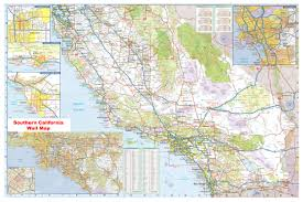 Chino Hills California Map Southern California Beach City Maps Orange County Map Los