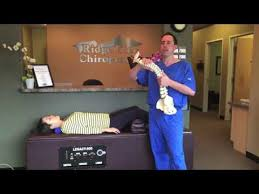 Roller Massage Table by Chiropractic Roller Massage Table Youtube
