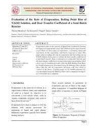 experiment 8 evaporation evaporation heat transfer