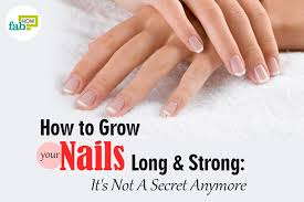 how to grow your nails long and strong it u0027s not a secret anymore