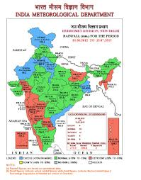 Map Of India And Nepal by Six Regions Of India Facing Prospects Of Crop Failure And Drought