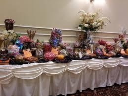 black u0026 gold wedding centerpieces rental only u2014 tj u0027s candy buffets