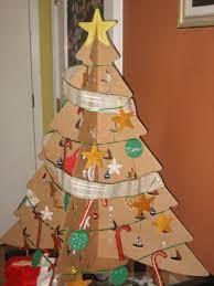 cardboard christmas tree a recycled twist on the christmas tree cardboard