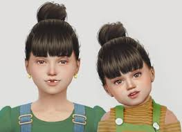 sims 4 kids hair spring4sims anto goldfish hair for kids for the sims 4