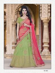 buy apparels pista green colour raw silk designer wedding wear