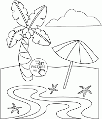palm beach coloring kids summer coloring pages