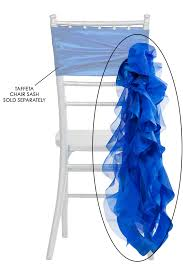 curly willow chair sash curly willow chair sash royal blue new design cv linens