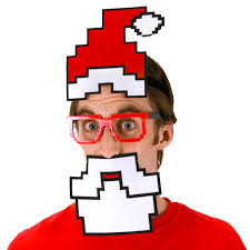 santa costumes stupid pixel santa costume kit