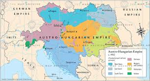 Budapest Hungary Map The Austro Hungarian Empire C 1900