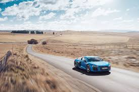 audi r8 wallpaper blue download 4096x2732 audi r8 v10 desert blue side view road