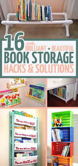 book storage kids 16 kids book storage hacks and solutions playroom organization