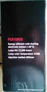 atlas lighting vnf12 52feupk 52w vandalproof outdoor light fixture