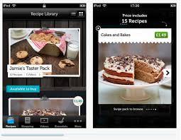 application recettes de cuisine application iphone oliver achat de recette à l unité