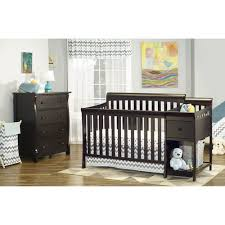 sorelle crib with changing table sorelle florence 4 in 1 crib changer combo espresso walmart com