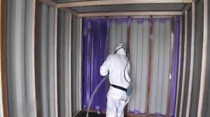 insulating a shipping container with basf walltite spray foam