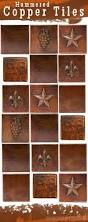 kitchen copper tiles for kitchen backsplash faux copper backsplash