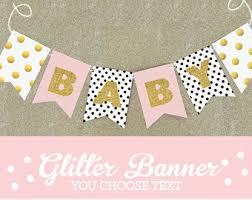 baby shower banner baby shower bunting etsy
