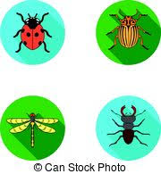 was ist das für ein insekt eine wanze oder was urlaub insekten wohnung stil wanze insekt vektor käfer karikatur clipart