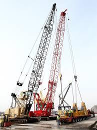 New Manitowoc 2250 300 Ton Crawler Crane Makes First Heavy Lift At