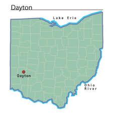 dayton map dayton ohio ohio history central