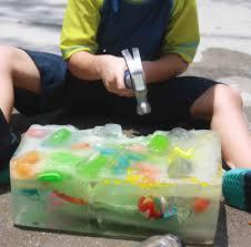 ice block treasure hunt macaroni kid random pinterest