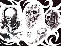 amazing skull design photos pictures and sketches