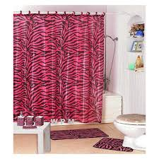 Pink Bathroom Accessories Sets by 22pc Bath Accessories Set Pink Zebra Animal Print Bathroom Rugs