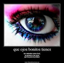 imagenes de ojos con frases bonitas lindas frases facebook que bonitos ojos tienes