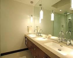 pendant light over sink bathroom lighting pendant collection in over sink bathroom