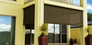Exterior Shades For Patio Comfortable Patio Outdoor Blinds Lowes Hampedia