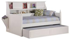 bedroom white wooden daybed with trundle 421242922201715 white