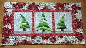 trio tree quilt sewing 4 free