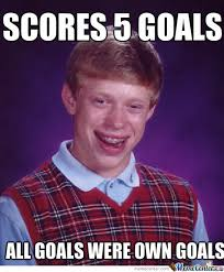 Meme With Own Picture - own goal by ahcrap meme center