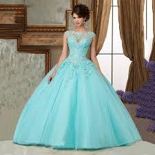 light mint green sweet 16 dresses cheap masquerade prom ball gowns