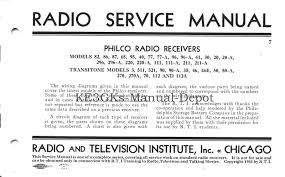 philco radio receivers service manual cdrom pdf u2022 8 99 picclick