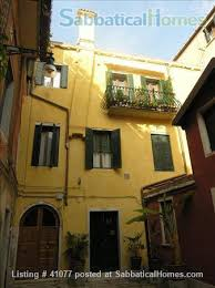 rent a in italy sabbaticalhomes com venice italy house for rent furnished home