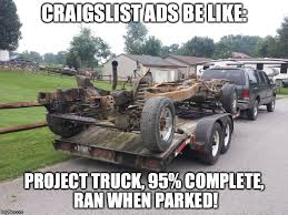 Project Car Memes - craigslist be like imgflip