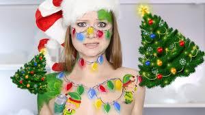 i u0027m not a christmas tree cute elf makeup tutorial youtube