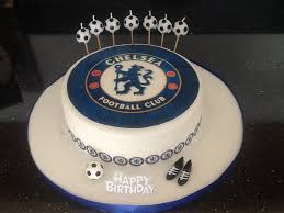 how to make a cake for a boy chelsea cake football how to make tutorial steps boy birthday