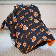 Carseat Canopy For Boy by Cincinnati Bengals Baby Gear Carseat Canopy Cover Nfl Licensed