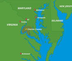 washington dc region map strategic business location near dc charles county charles