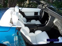 white corvette interior used corvette for sale