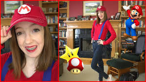 Cheap Halloween Makeup Ideas by Diy Mario Halloween Costume Cheap And Easy Babymad74 Youtube