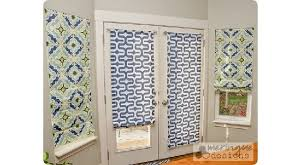 Magnetic Blinds For French Doors Tutorial How To Make Roman Shades For French Doors U2013 Sewing