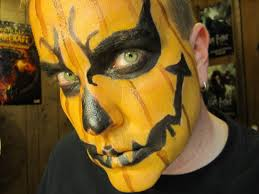 jack o lantern pumpkin makeup tutorial halloween 2012 youtube