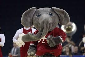 What Is The Flag Of Alabama The Elephant Story Alabama Athletics