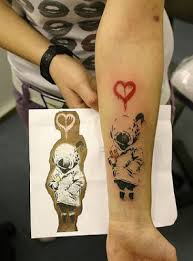 tattoos file banksy tattoo sweet tattoos for girls