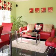 Living Room With Red Sofa by A Second Living Room Seating Area Designed By Gary Mcbournie