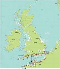 English Channel Map Dkw Imray Stentec Navigation